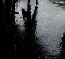Wet London by EricHands