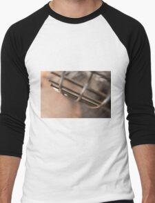 Wire Abstract Men's Baseball ¾ T-Shirt
