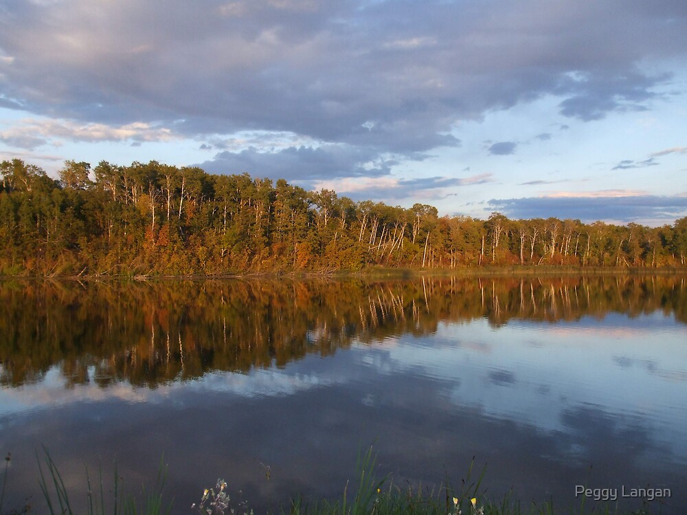 Awesome Reflections by Peggy Langan