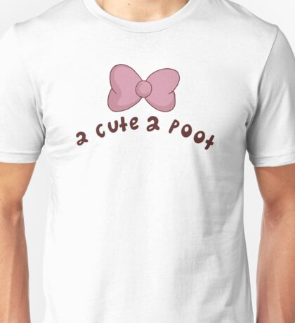 2 Cute 2 Poot: Bee and Puppycat! Unisex T-Shirt