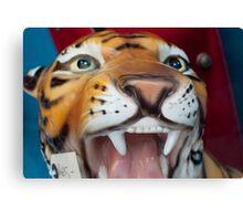 Ceramic Tiger Canvas Print
