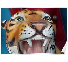 Ceramic Tiger Poster