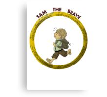 Sam the Brave Canvas Print