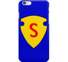 Golden Age Superman symbol iPhone Case/Skin