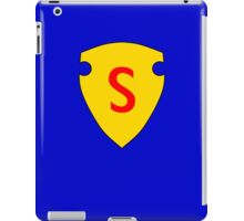 Golden Age Superman symbol iPad Case/Skin