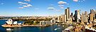 Circular Quay From Sydney Harbour Bridge Panorama by DavidIori