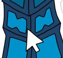 "Championship Thresh - ""CLICK ON THE LANTERN!"" - BLACK TEXT/LIGHT SHIRTS Sticker"