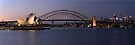 Opera House Harbour Bridge Panorama by DavidIori