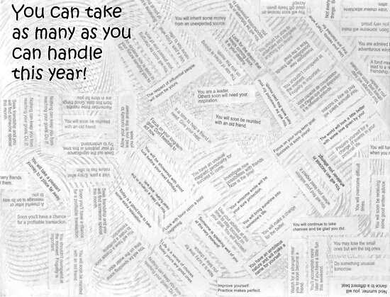 You Can Choose As Many As You Can Handle! by Sandra Foster