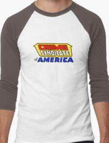 Crime Syndicate of America Men's Baseball ¾ T-Shirt