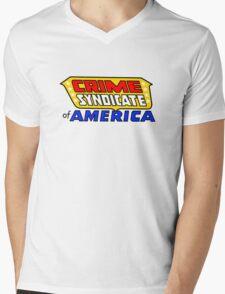 Crime Syndicate of America Mens V-Neck T-Shirt