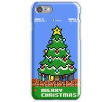 Merry 8-bit Christmas iPhone Case/Skin