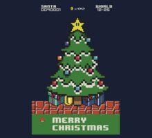 Merry 8-bit Christmas by vegetasprincess