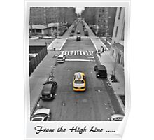 From the High Line Poster