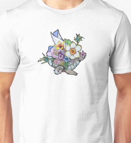 springtime flying Rosa Unisex T-Shirt