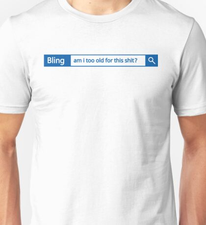 Bling - different search engine Unisex T-Shirt