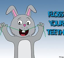 Floss Your Teeth by CGFWill