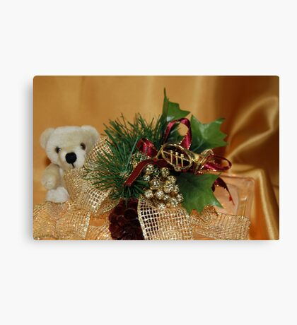 Holiday Gold Canvas Print