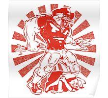 Wilbur Wildcat (Red) Poster