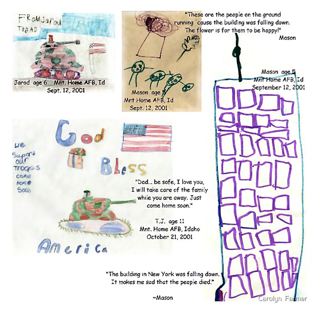 We Will Never Forget--9/11/01    by Carolyn  Farmer