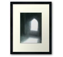 Simple Arch. Framed Print