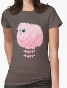 It's so fluffy! Womens Fitted T-Shirt