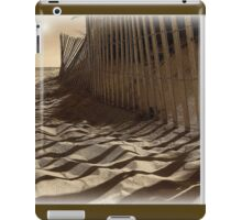 Like Waves in the Sands of Time  iPad Case/Skin