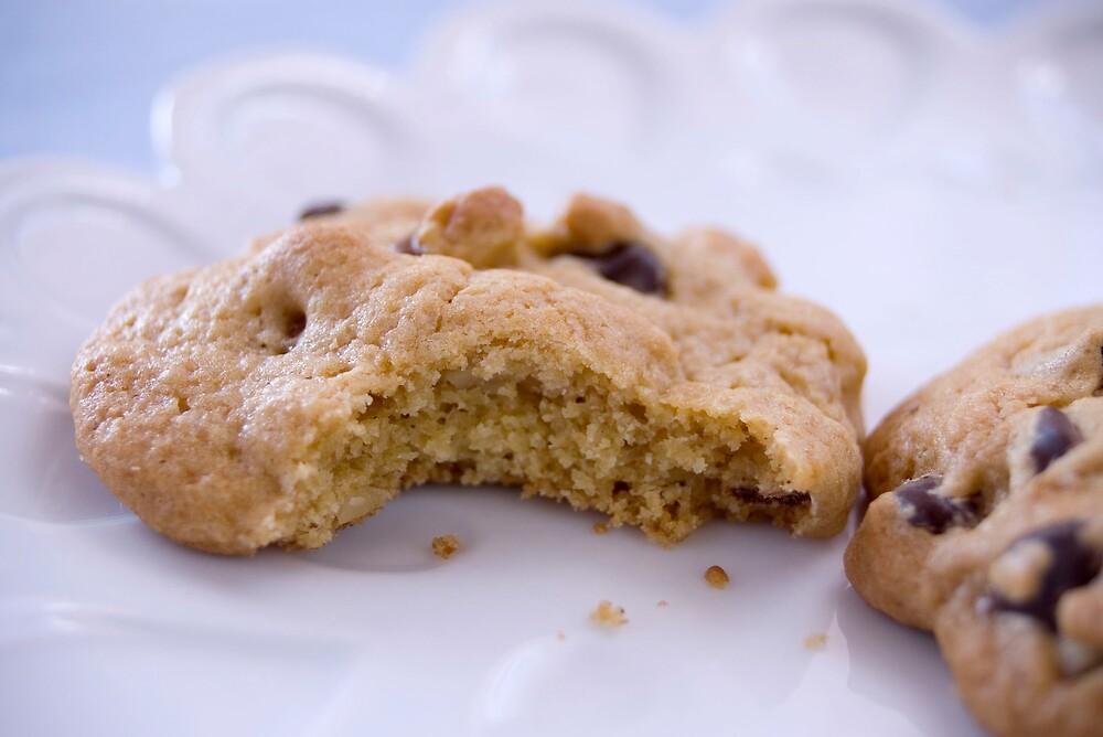Chocolate chip cookies by Zoe Hamilton