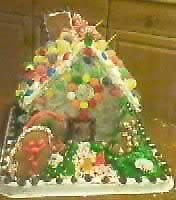 Our Gingerbread house by jcluvdwut