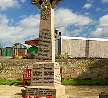 War Memorial, Staithes by Rod Johnson