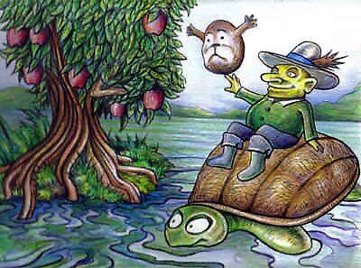 Mr turtle boat! by GlennPearce