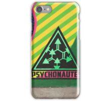 Psychonautes triangle Cork, Street art, iconic iPhone Case/Skin