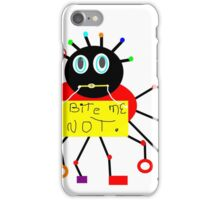 BUGS abstract, MOD decor, PRIMARY color iPhone Case/Skin