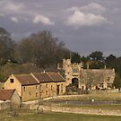 Montacute Castle by SWEEPER