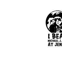 I Beat Michael J Fox at Jenga by DickVanDork