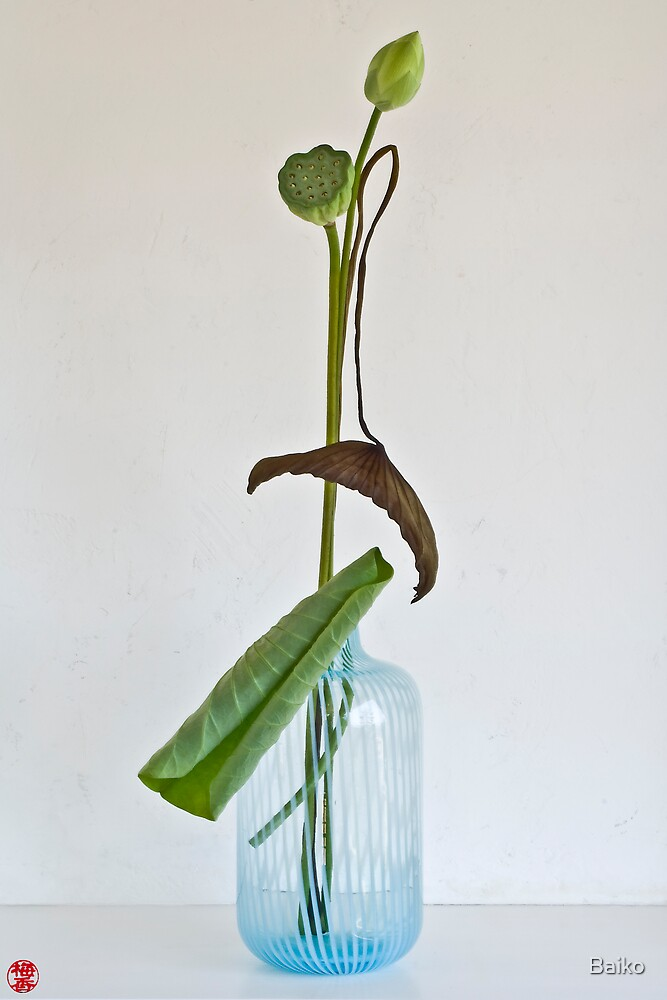 Ikebana-059 by Baiko