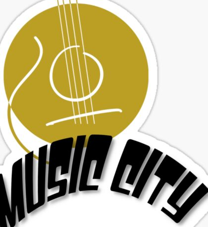 Music City Nashville Sticker