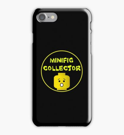 MINIFIG COLLECTOR iPhone Case/Skin