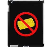 "Road Traffic Sign ""NO BRICK"" iPad Case/Skin"