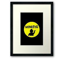 MINIFIG Framed Print