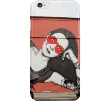 Kato Mask Street art fred waters Cork iPhone Case/Skin