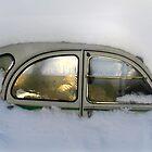 Burried in snow by Geir Floede