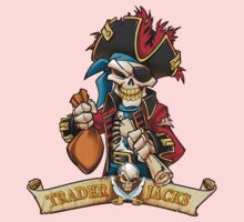 Trader Jack's Skeleton Pirate Billy Bones Kids Clothes