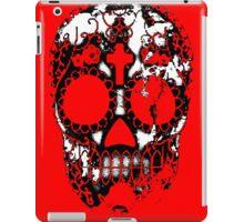 Day of the Dead Sugar Skull Grunge Design iPad Case/Skin