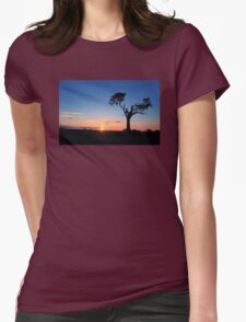 Sunrise...Just Waking Up Womens Fitted T-Shirt