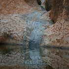 Uluru reflections by nicolette