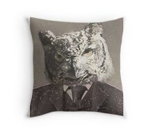 Owlfred The Owl Throw Pillow