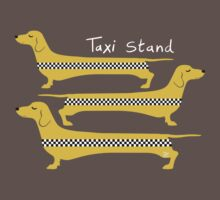 Taxi Stand Dogs Kids Clothes