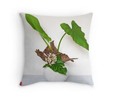 Ikebana-014 Throw Pillow