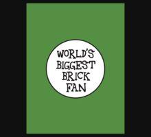 WORLD'S BIGGEST BRICK FAN One Piece - Long Sleeve